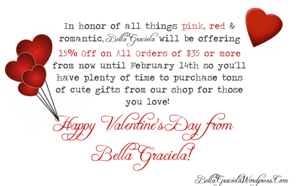 Valentine's Special at BellaGraciela.Wordpress.Com