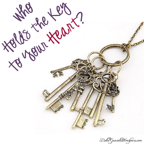 Who Holds the Key to Your Heart? Necklace - BellaGraciela.Wordpress.com