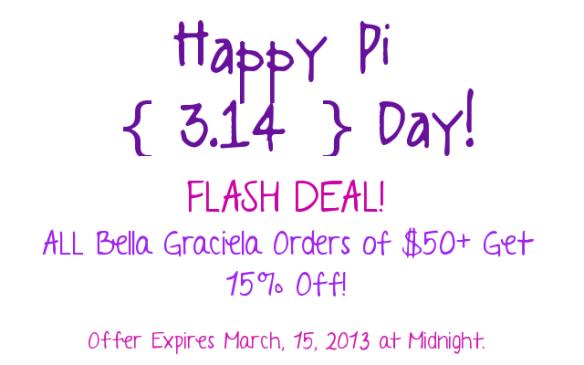 Happy Pi Day from Bella Graciela! - BellaGraciela.Wordpress.com