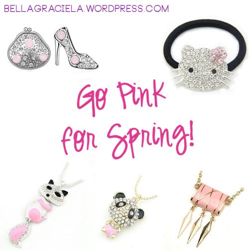 Go Pink for Spring - BellaGraciela.Com