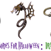 Fashionable Accessories for Halloween: Dragons Edition
