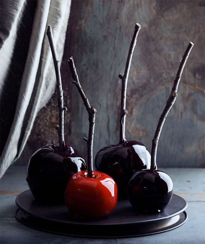 Marvelously Macabre Candied Apples - Pinterest