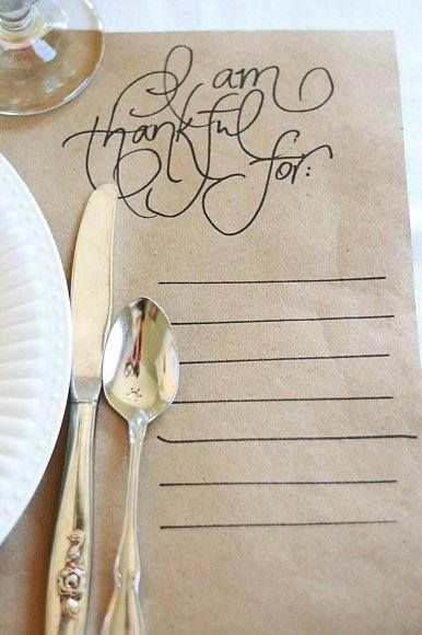 I am thankful for... - Pinterest