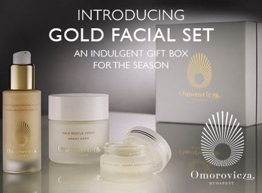 Gold Facial Set - Pinterest