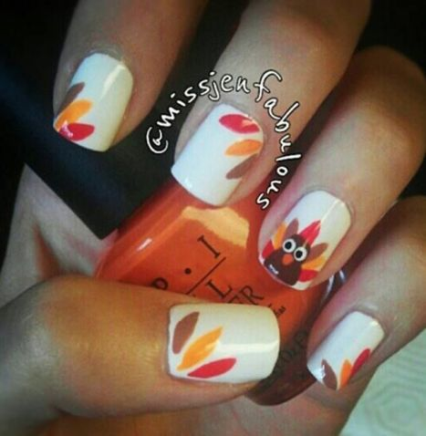 Turkey Nails - Pinterest