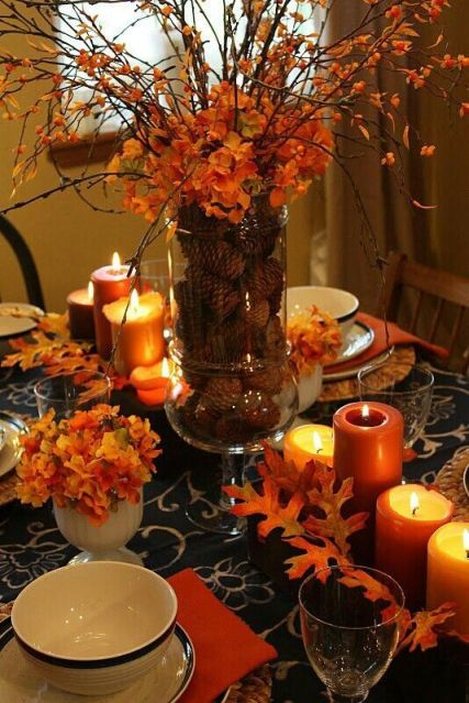 Thanksgiving Table Decor - Pinterest