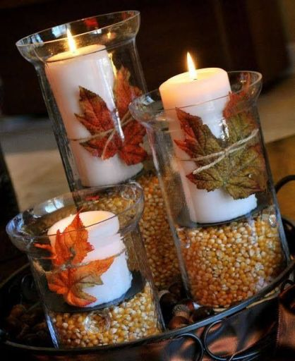 DIY Thanksgiving Decor - Pinterest