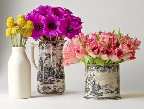 5 Spring Flower Arrangement Tips via Pinterest