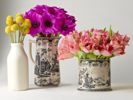 5 Spring Flower Arrangement Tips via Pinterest