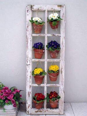 15 Creative DIY Garden Projects via Pinterest