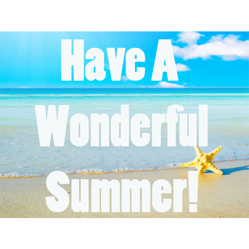 Happy First Day of Summer!  bellagraciela